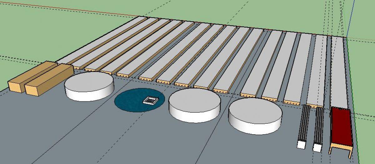 Exemple de vue Projet 3D